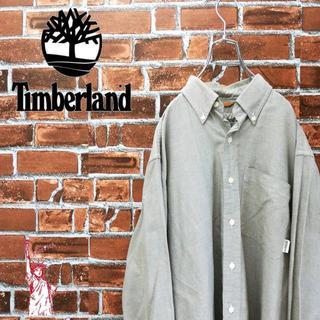 ティンバーランド(Timberland)のティンバーランド☆シンプルコーデ胸ポケットロゴタグ コットンBDシャツ(シャツ)