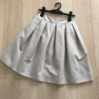 エムプルミエ(M-premier)のエムプルミエブラック スカート(ひざ丈スカート)