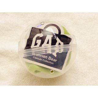ギャップ(GAP)のGAP ガチャ 限定 パーカー グリーン 黄緑 ブラナンベア カプセルトイ(キャラクターグッズ)