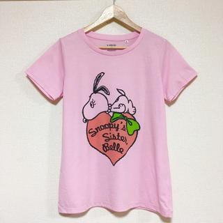 スヌーピー(SNOOPY)のスヌーピー ✳︎ベルTシャツ♪(Tシャツ(半袖/袖なし))