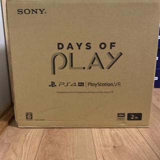 プレイステーションヴィーアール(PlayStation VR)のPlayStation 4 Pro PlayStation VR 2TB(家庭用ゲーム機本体)