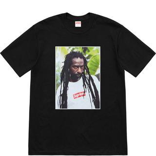 シュプリーム(Supreme)のSupreme Buju Banton Tee Black M ブジュ Tシャツ(Tシャツ/カットソー(半袖/袖なし))