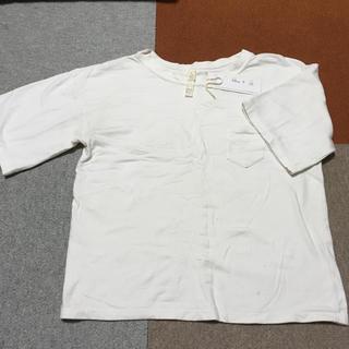 ヤエカ(YAECA)のyaeca ヤエカ シンプル クルーネック ホワイト Tシャツ タグあり S(Tシャツ(半袖/袖なし))