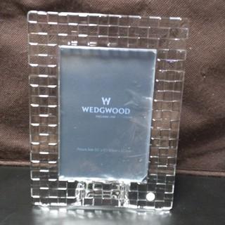 ウェッジウッド(WEDGWOOD)の送料無料!WEDGWOOD/ウェッジウッド/クリスタルフォトフレーム/未使用品(フォトフレーム)