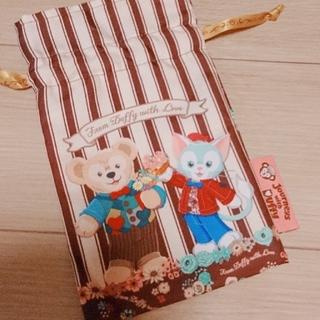 ダッフィー(ダッフィー)のダッフィー&ジェラトーニ  巾着(ポーチ)