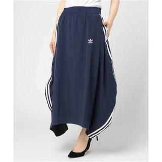 アディダス(adidas)のadidas originals 3stripes ロングスカート Sサイズ(ロングスカート)