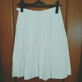 イーストボーイ(EASTBOY)のEastBoy チェック★スカート(ひざ丈スカート)