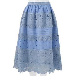 チェスティ(Chesty)のChesty♡フラワーレーススカート(ひざ丈スカート)