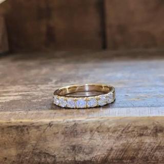 k18 ダイヤモンドリング   ダイヤモンドエタニティリング(リング(指輪))