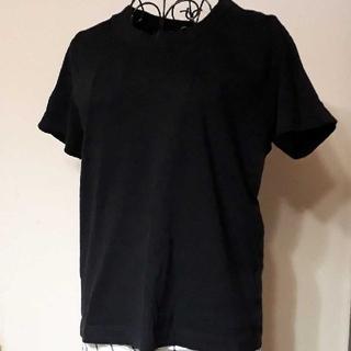 レイトリー LAITERIE ふわふわ 黒 Tシャツ 半袖カットソー(Tシャツ(半袖/袖なし))