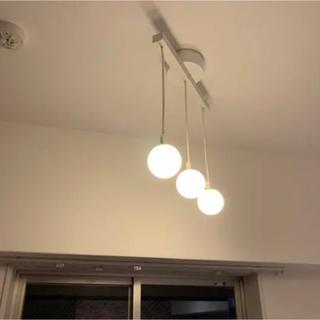 ムジルシリョウヒン(MUJI (無印良品))の【無印良品】LEDシリコンペンダントライト(3灯)(天井照明)