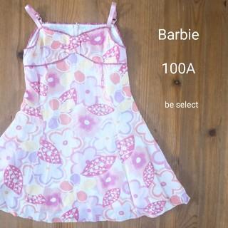 バービー(Barbie)の[Barbie/100A]まるでお人形!ポップな花柄キャミワンピ!(ワンピース)