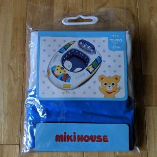 ミキハウス(mikihouse)の【値下げ!】★新品未使用★ミキハウス ベビーボート(ブルー)(マリン/スイミング)