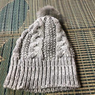 コムサイズム(COMME CA ISM)のニット帽(ニット帽/ビーニー)