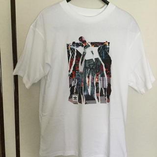 アディダス(adidas)の新品タグ付 adidas アディダスオリジナルスTシャツ 白 Lサイズ(Tシャツ/カットソー(半袖/袖なし))