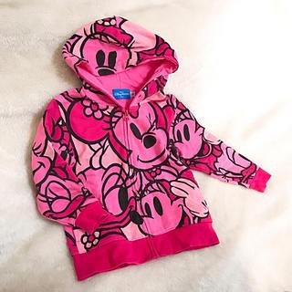 Disney - ディズニー♡ミニー♡デイジー♡パーカー♡ピンク♡ディズニーランド♡ミニーちゃん