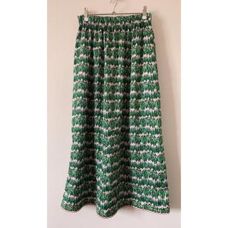 アッシュペーフランス(H.P.FRANCE)のd-due スカート 2019年春購入(ロングスカート)