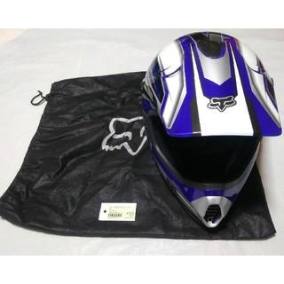 FOX Tracer PRO ジュニア用 オフロード ヘルメット ブルー(モトクロス用品)