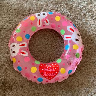 ミキハウス(mikihouse)のミキハウス 浮き輪 60㎝(マリン/スイミング)