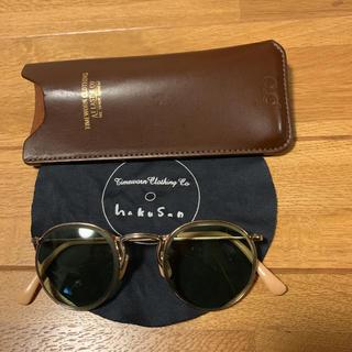テンダーロイン(TENDERLOIN)の人気品! ATLAST 白山眼鏡 サングラス メガネ めがね  眼鏡 EXILE(サングラス/メガネ)