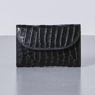 ホワイトハウスコックス(WHITEHOUSE COX)のホワイトハウスコックス 三つ折り財布(限定クロコ型押し品)(折り財布)