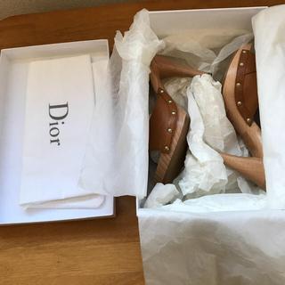クリスチャンディオール(Christian Dior)のディオールミュール(サンダル)