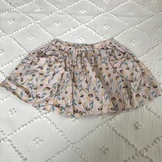 ボンポワン(Bonpoint)のBONTON 花柄 スカート (スカート)