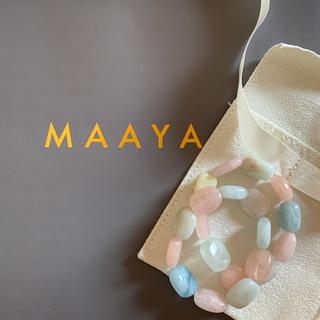 チェスティ(Chesty)のMAAYA天然石ブレスレットパールchestyビジュードエムdrawer(ブレスレット/バングル)