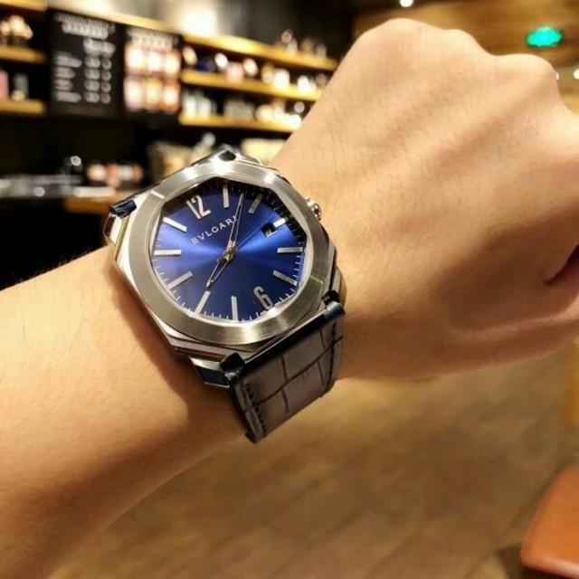 スーパーコピーモーリス・ラクロア時計激安 - BVLGARI - 美品 BVLGARI OCTO ブルガリ 腕時計 メンズウォッチの通販 by bieevrtyu's shop|ブルガリならラクマ