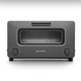 バルミューダ(BALMUDA)の★美品 定価24732円 BALMUDA バルミューダ 感動トースター ブラック(調理機器)