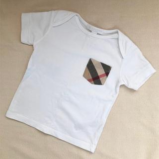 BURBERRY - バーバリー Tシャツ 80美品