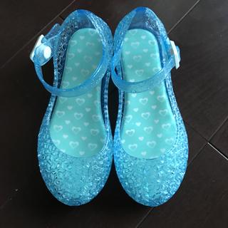 シマムラ(しまむら)の専用 キッズサンダル しまむら ガラスの靴 16センチ(サンダル)