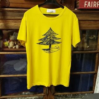 ミナペルホネン(mina perhonen)のミナペルホネン  mori no umi  Tシャツ size36 used(Tシャツ(半袖/袖なし))