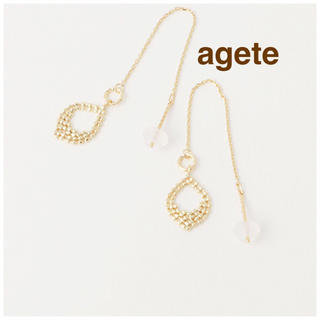 アガット(agete)の【販売証明書あり美品】agete ピアス (ピアス)