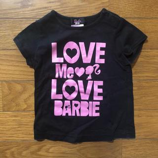 Barbie - Barbie 半袖 Tシャツ 80 バービー