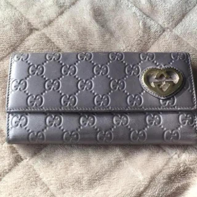 Gucci - GUCCI  長財布  シマの通販 by るん's shop|グッチならラクマ