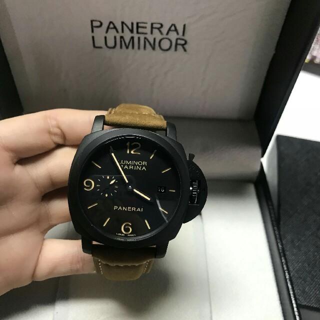 偽物ブランド 通販 、 PANERAI - PANERAI パネライタイプ 腕時計の通販 by サカモト's shop|パネライならラクマ