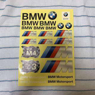 BMW Motorsport シール 1枚