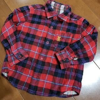 ミキハウス(mikihouse)のミキハウス 90 80 リバーシブル コットンシャツ (ジャケット/上着)