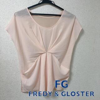 フレディアンドグロスター(FREDY & GLOSTER)のフレディ&グロスター ピンク シフォン ブラウス トップス(カットソー(半袖/袖なし))