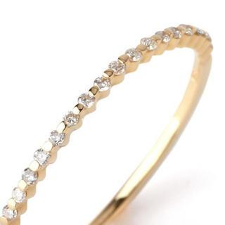 アーカー(AHKAH)のsiena rose シエナロゼ リング 1号(リング(指輪))