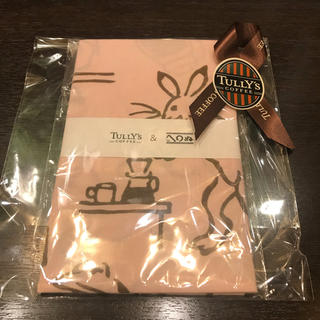 タリーズコーヒー(TULLY'S COFFEE)のTully's Coffee タリーズ 「かまわぬ」鳥獣戯画 手ぬぐい コーヒー(ノベルティグッズ)