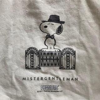 ビームス(BEAMS)のmr.gentleman × Snoopy トートバッグ(トートバッグ)