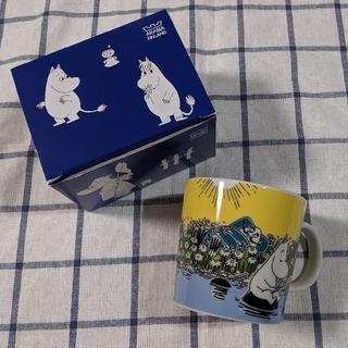 アラビア(ARABIA)の新品未使用 アラビア ムーミン 2015 限定 廃盤 マグカップ マグ レア(グラス/カップ)