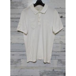 バックナンバー(BACK NUMBER)のセール★ BACK NUMBER バックナンバー オール ホワイト ポロシャツ(ポロシャツ)
