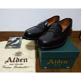 オールデン(Alden)の新品未使用ALDEN 986 コードバンローファー オールデン8.5D 26.5(スリッポン/モカシン)