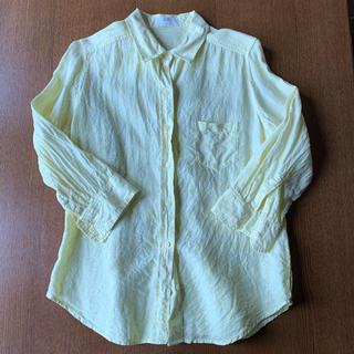 ユニクロ(UNIQLO)のリネンシャツ  7分袖(シャツ/ブラウス(長袖/七分))