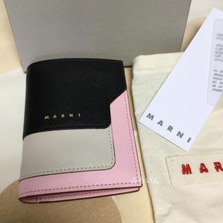 マルニ(Marni)の【新品】 マルニ 二つ折り財布 (財布)