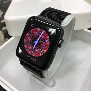 アップルウォッチ(Apple Watch)のKazu様専用 Apple Watch series3  スペースグレイ(スマートフォン本体)