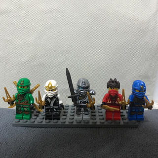 レゴ(Lego)のLEGO(レゴ)LEGOニンジャゴーシリーズ 5種類セット(キャラクターグッズ)
